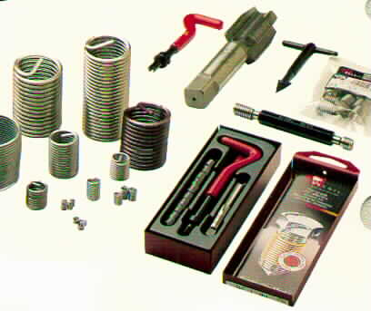 Recoil Screw Thread Inserts , Thread Repair Kits and Tooling