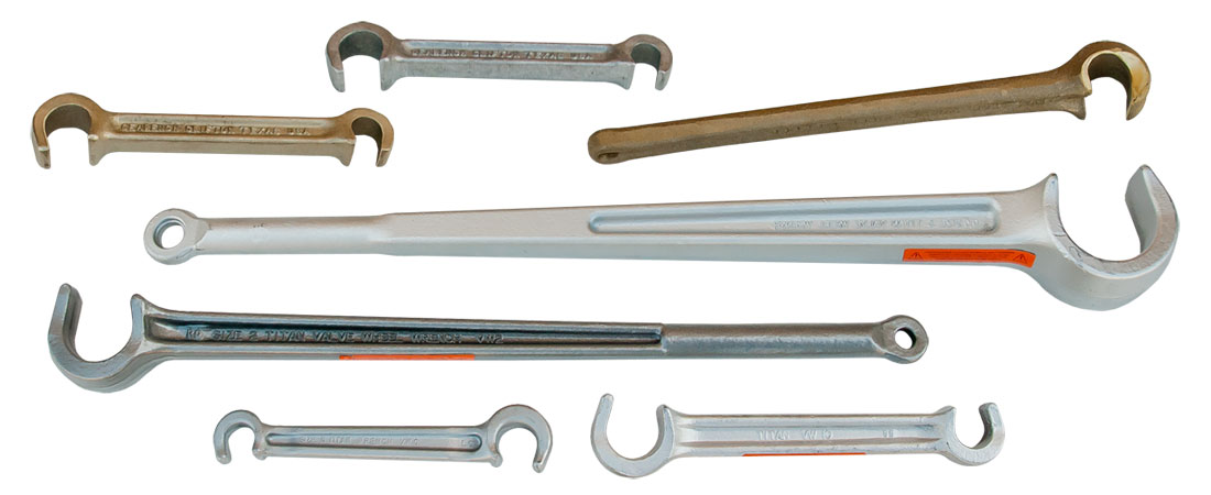 Titan Valve Wheel Wrenches Manufactured By Gearench