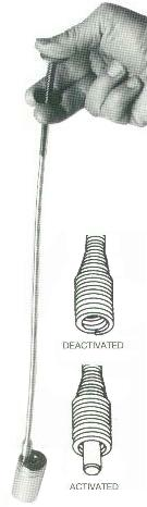 16-3//4 to 26-1//2 Extended Handle Length Ullman Devices No 5 lbs Capacity 21X Heavy Duty Telescopic Magnetic Pick-Up Tool with Rotating Aluminum Head